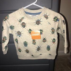 Bug crew neck sweatshirt